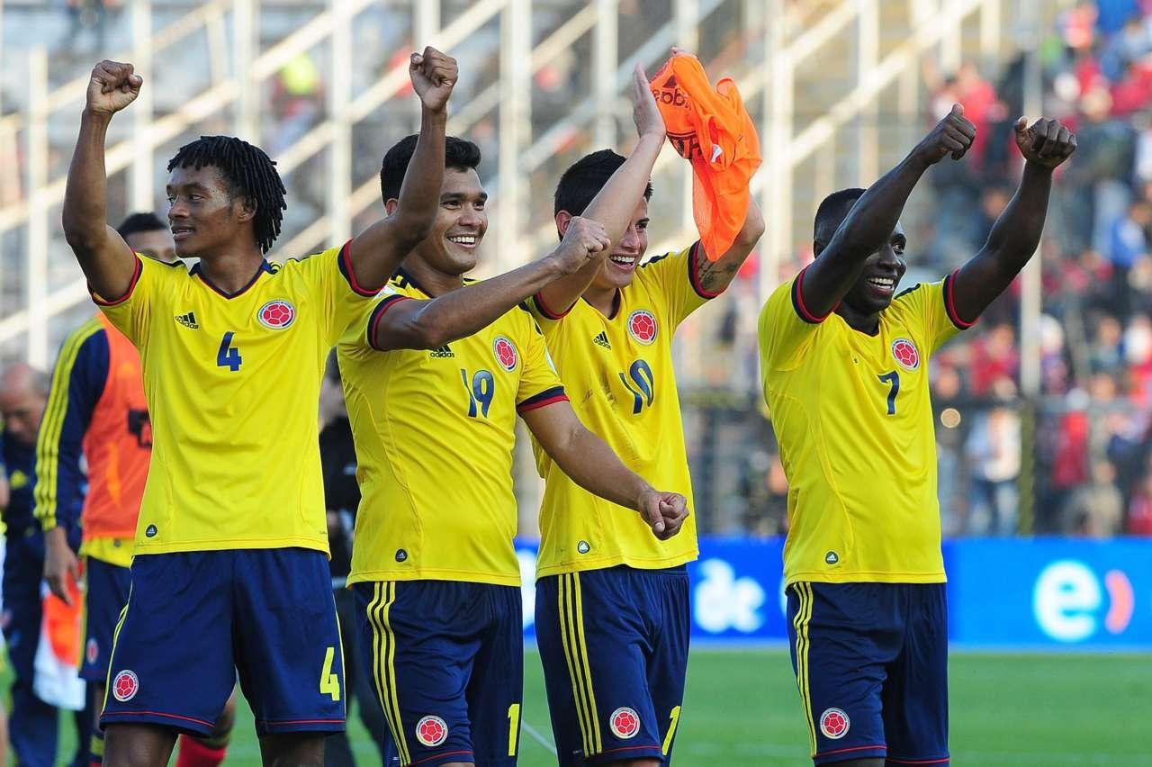 Chile vs Colombia 2012