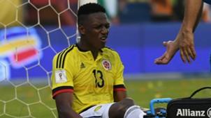 Yerry Mina Colombia vs. Chile 2016