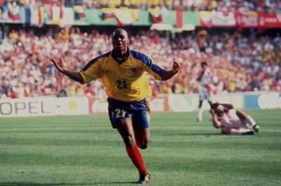 Camiseta Colombia 1998 - Leider Preciado