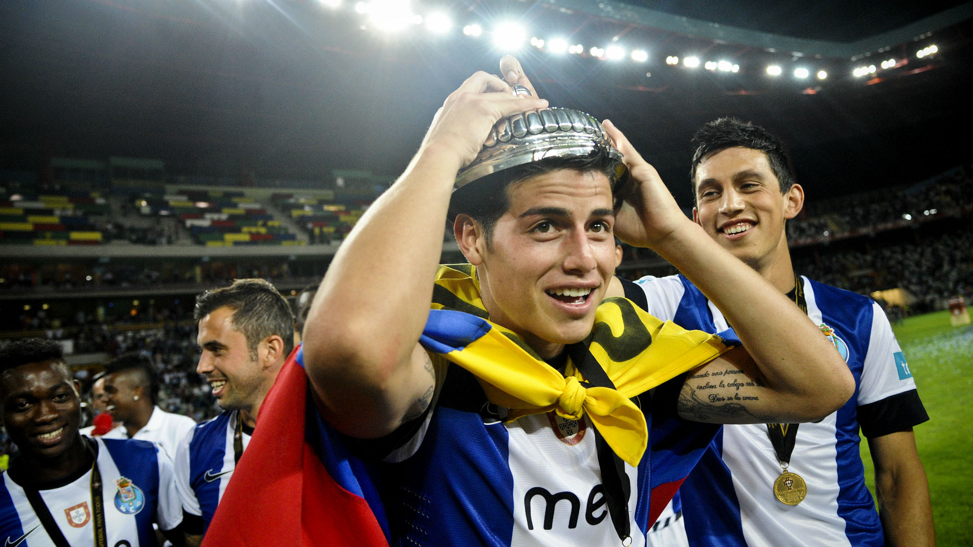 James campen Porto supercopa 2012