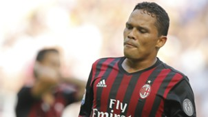 Carlos Bacca Milan vs Udinese
