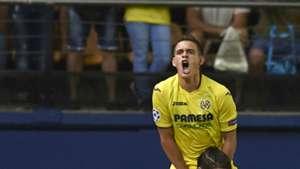 Rafael Santos Borré Villarreal Champions League