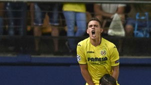 Rafael Santos Borré Villarreal Champions League