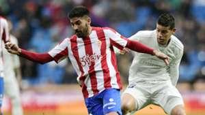 James Rodríguez Real Madrid vs Sporting Gijón 26112016