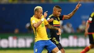 Neymar - Barrios Brasil vs Colombia Eliminatoria 2018