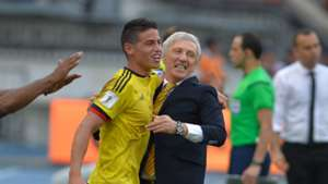 James Rodríguez & José Pekerman Colombia vs Venezuela