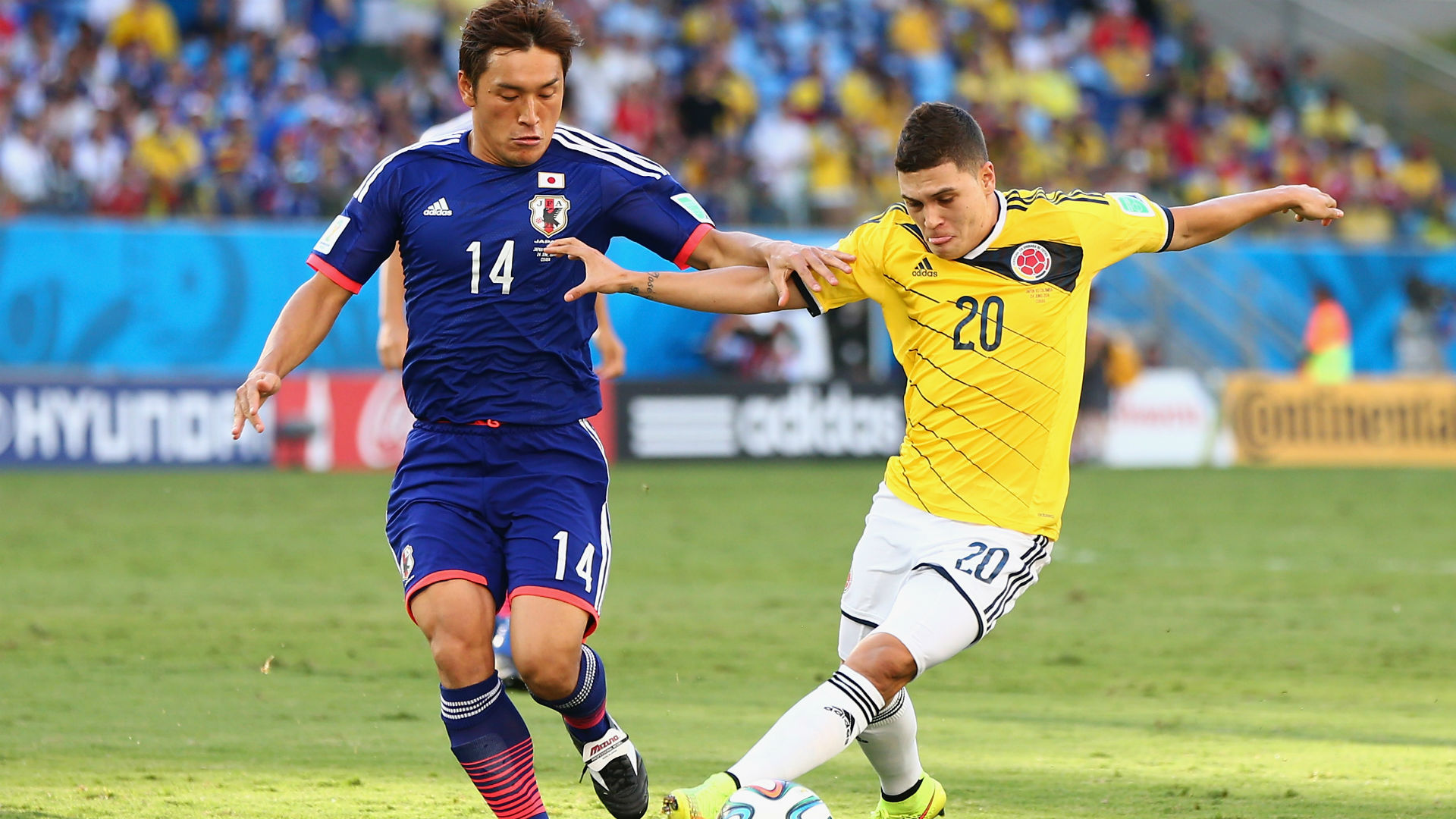 Juan Fernando Quintero - Colombia vs Japón Brasil 2014