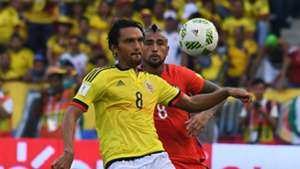 Abel Aguilar Arturo Vidal Colombia vs Chile Eliminatoria 10112016