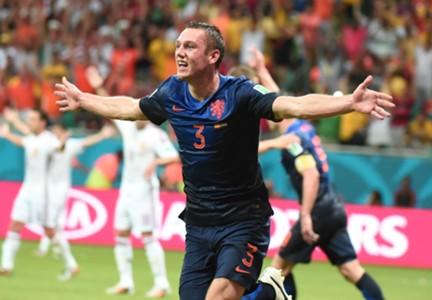 Stephan de Vrij Netherlands World Cup 2014 Group B 140613