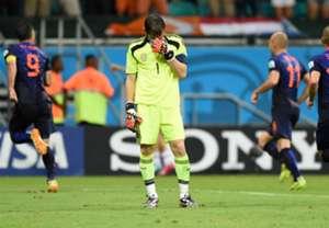 Iker Casillas Spain World Cup 2014 Group B 140613
