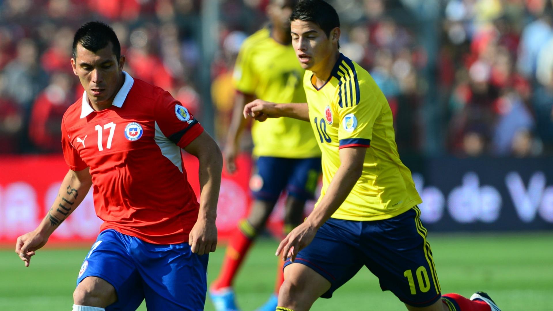 Chile vs Colombia Eliminatoria 2012.