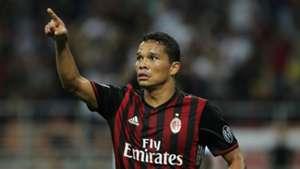 Carlos Bacca gol Milan Vs Lazio