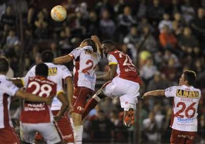 Huracán vs Santa Fe Ida Sudamericana 2015