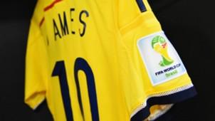 Camiseta Colombia 2014