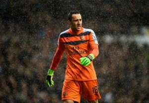 David Ospina fue titular en el clásico Tottenham-Arsenal.