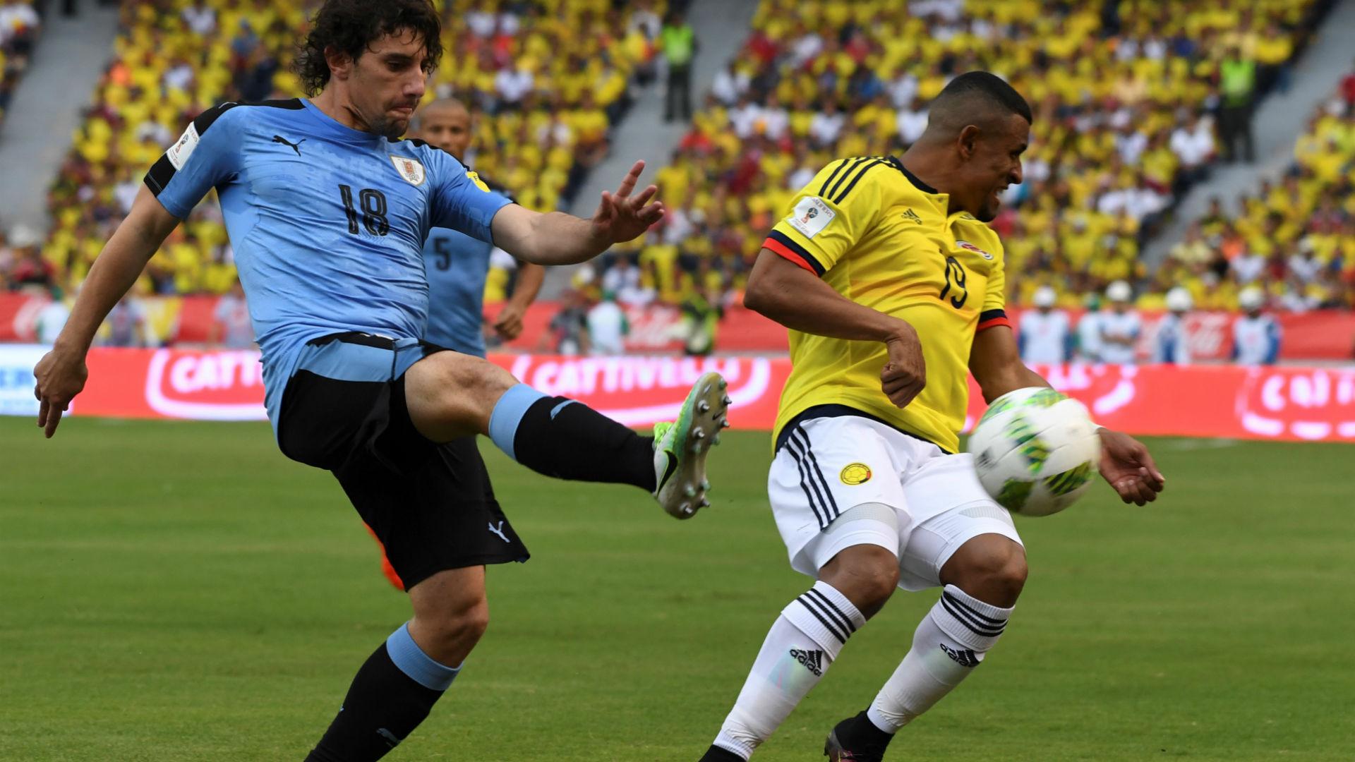 Farid Díaz Colombia vs Uruguay Eliminatoria 2016