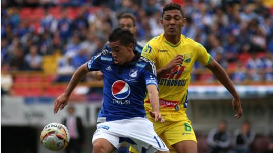 Maxi Núñez Millonarios vs Huila.