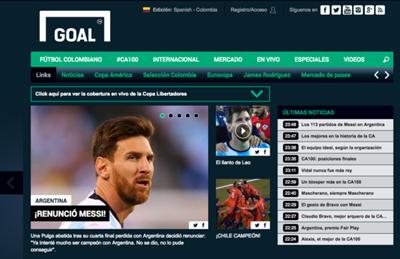 Renuncia Messi Tapa Goal