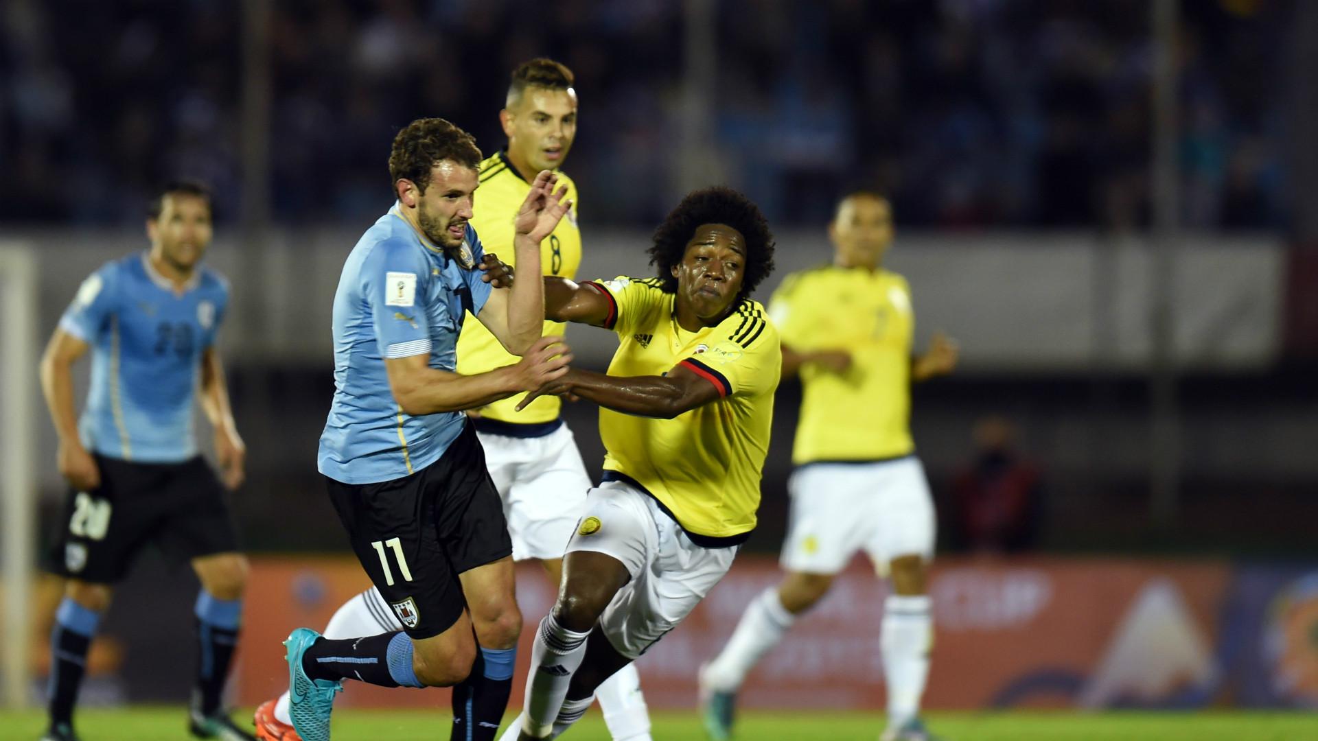 Uruguay vs Colombia 2015
