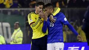 James y Neymar Copa América 2015