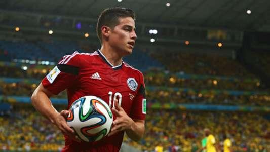 James Rodriguez Mundial 2014