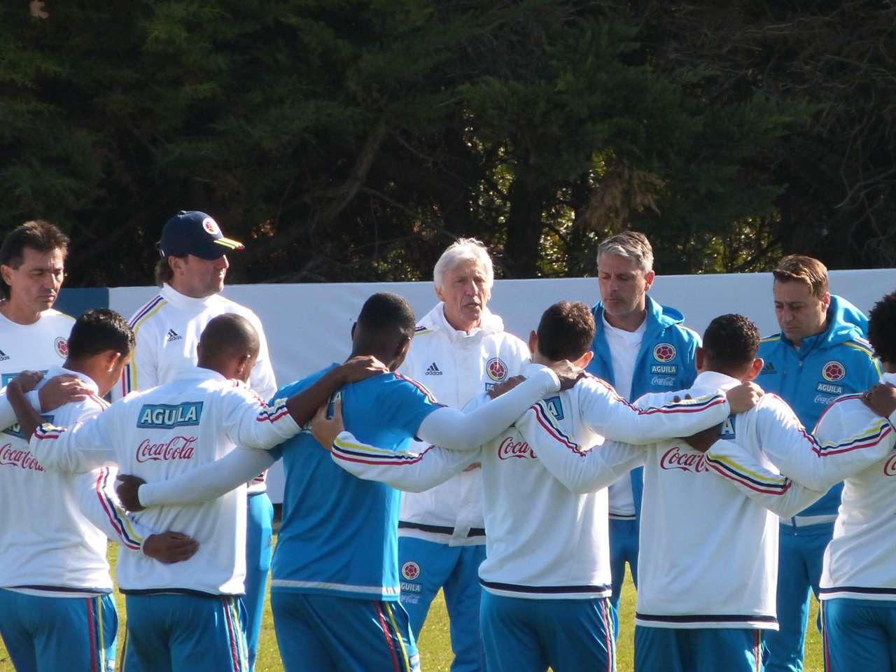 Selección Colombia - Entrenamiento San Carlos de Apoquindo