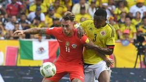 Oscar Murillo Eduardo Vargas Colombia vs Chile Eliminatoria 10112016