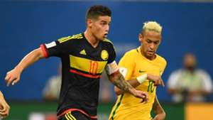 James Rodríguez - Colombia FT Neymar