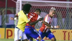 Carlos Sánchez Paraguay vs Colombia Eliminatoria 2016