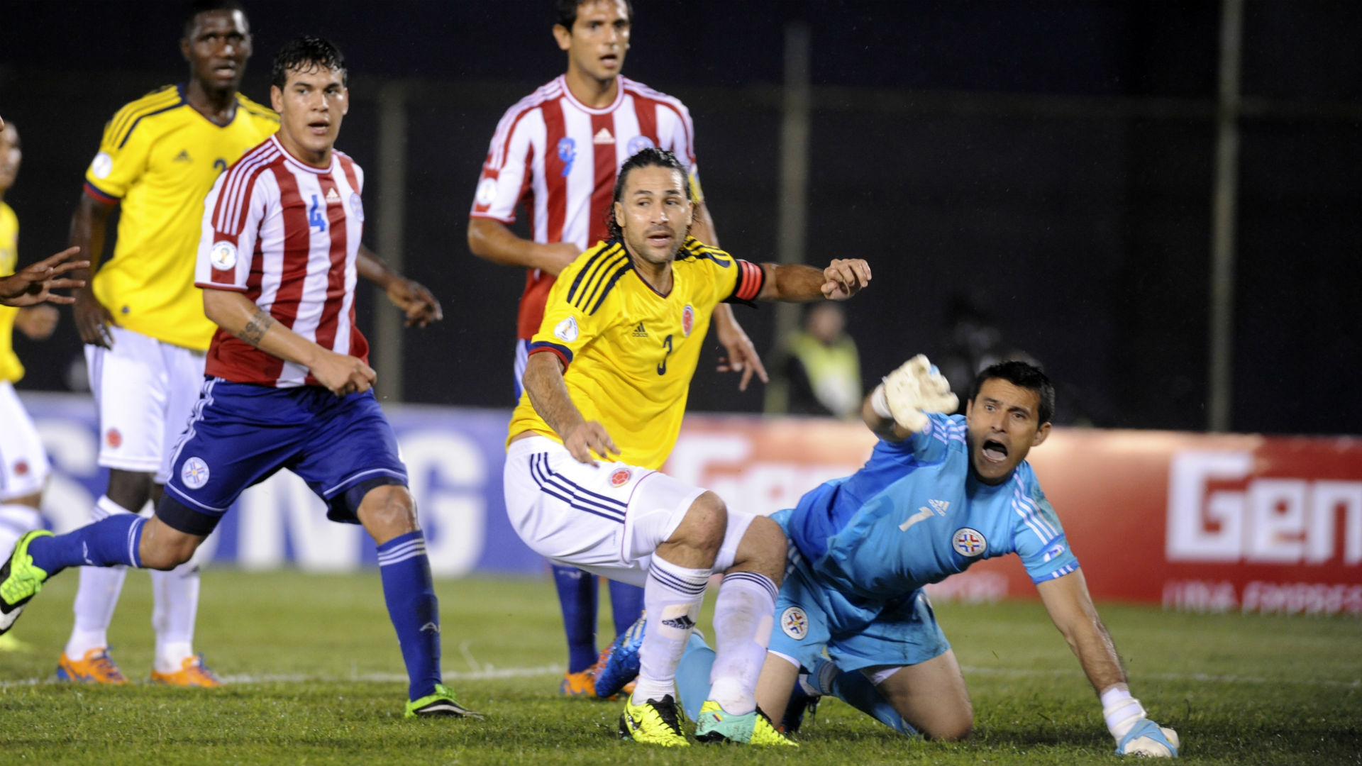 Mario Yepes Colombia go a Paraguay