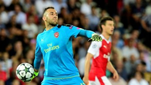 David Ospina Arsenal Chanpions League 2016