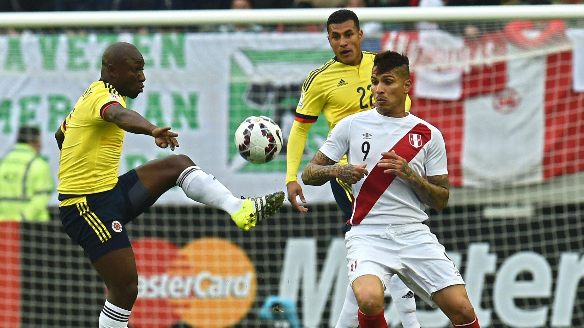 Pablo Armero Colombia vs Perú Copa América