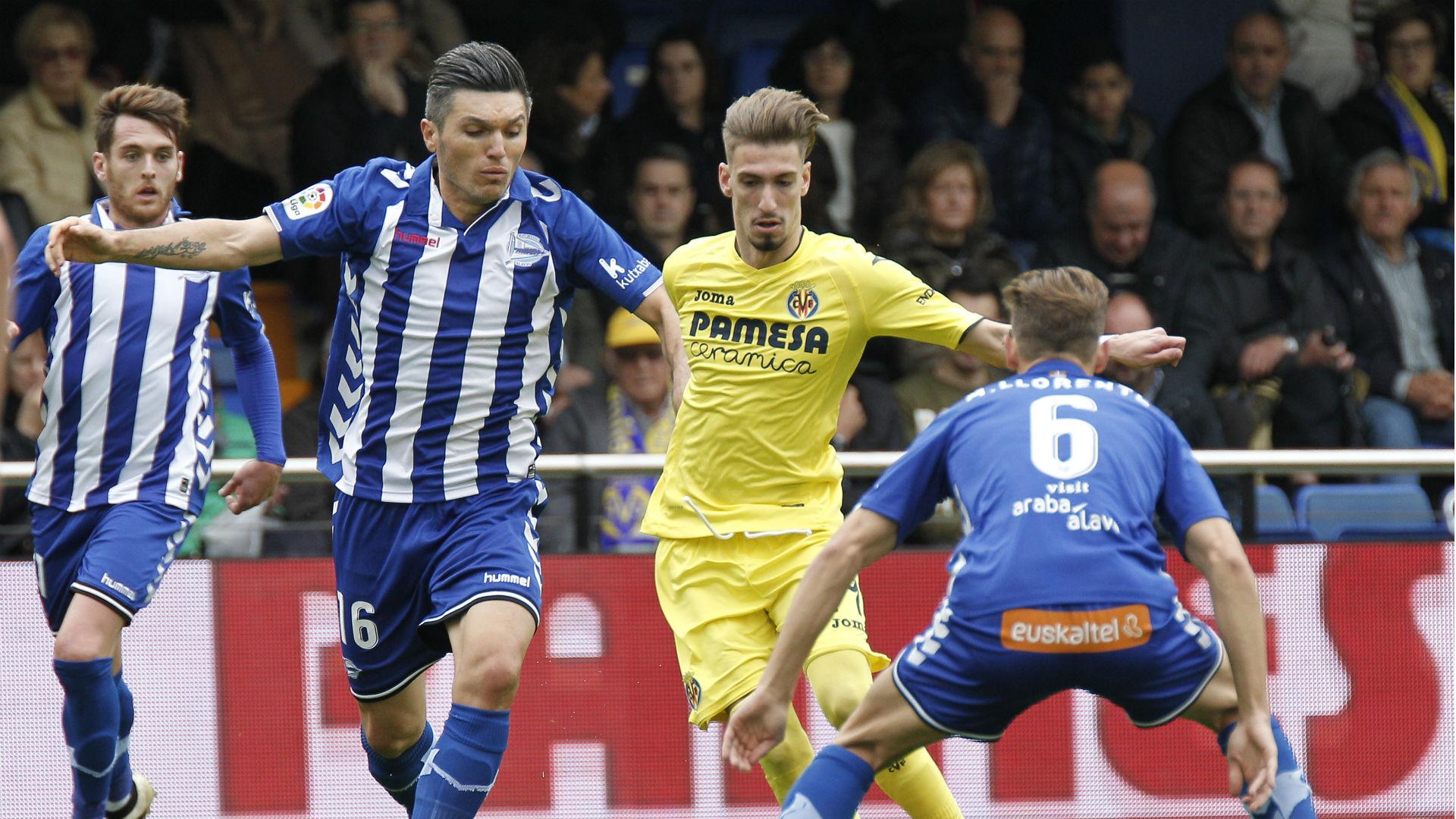 Daniel Torres Alavés vs Villarreal 27112016