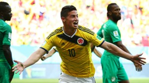 James Rodríguez Colombia vs Costa de Marfil Brasil 2014