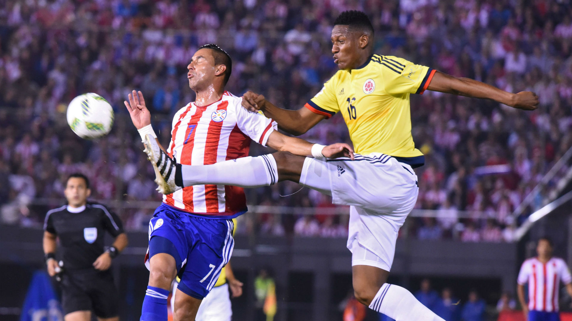 Yerri Mina Paraguay vs Colombia Eliminatoria 2016