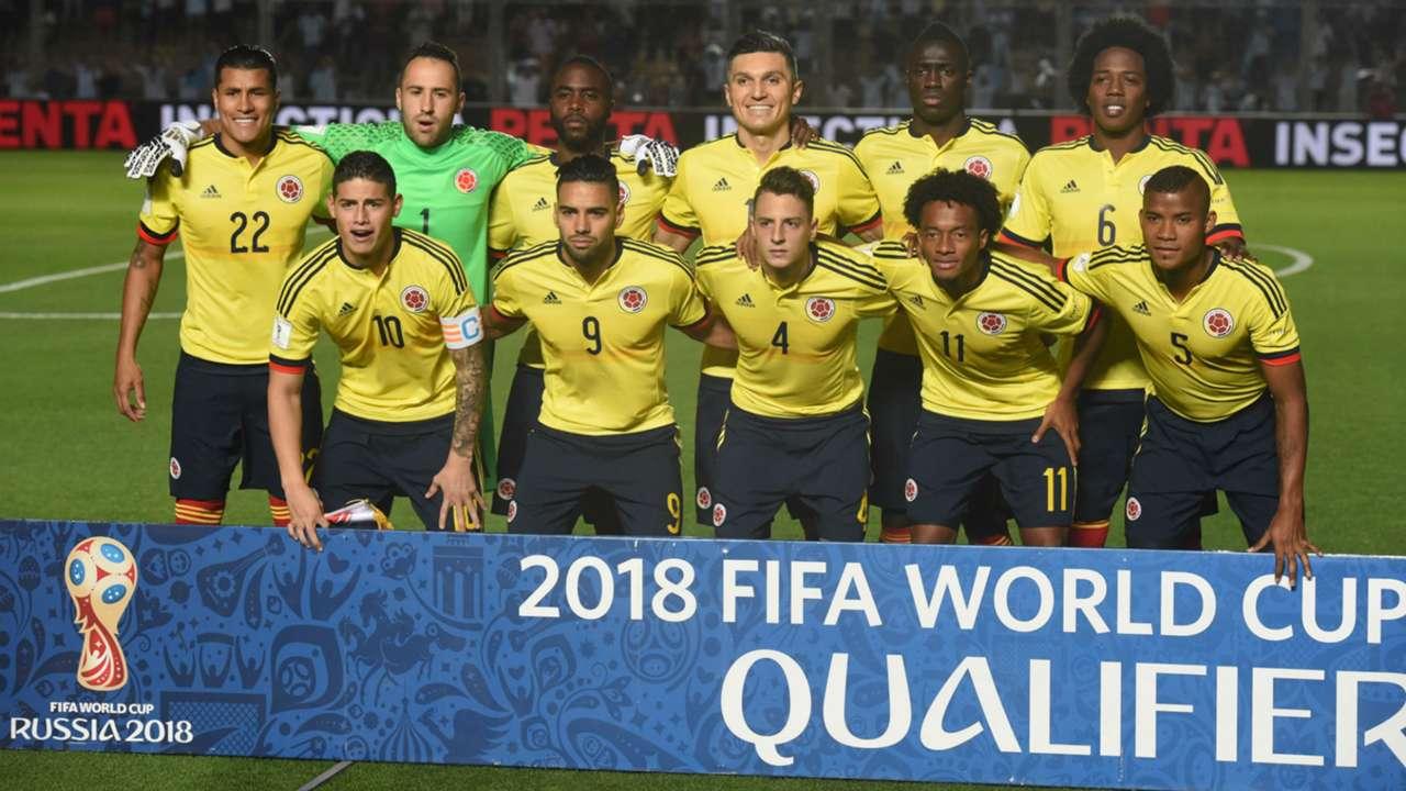 Nómina Colombia vs Argentina Eliminatoria 16112016