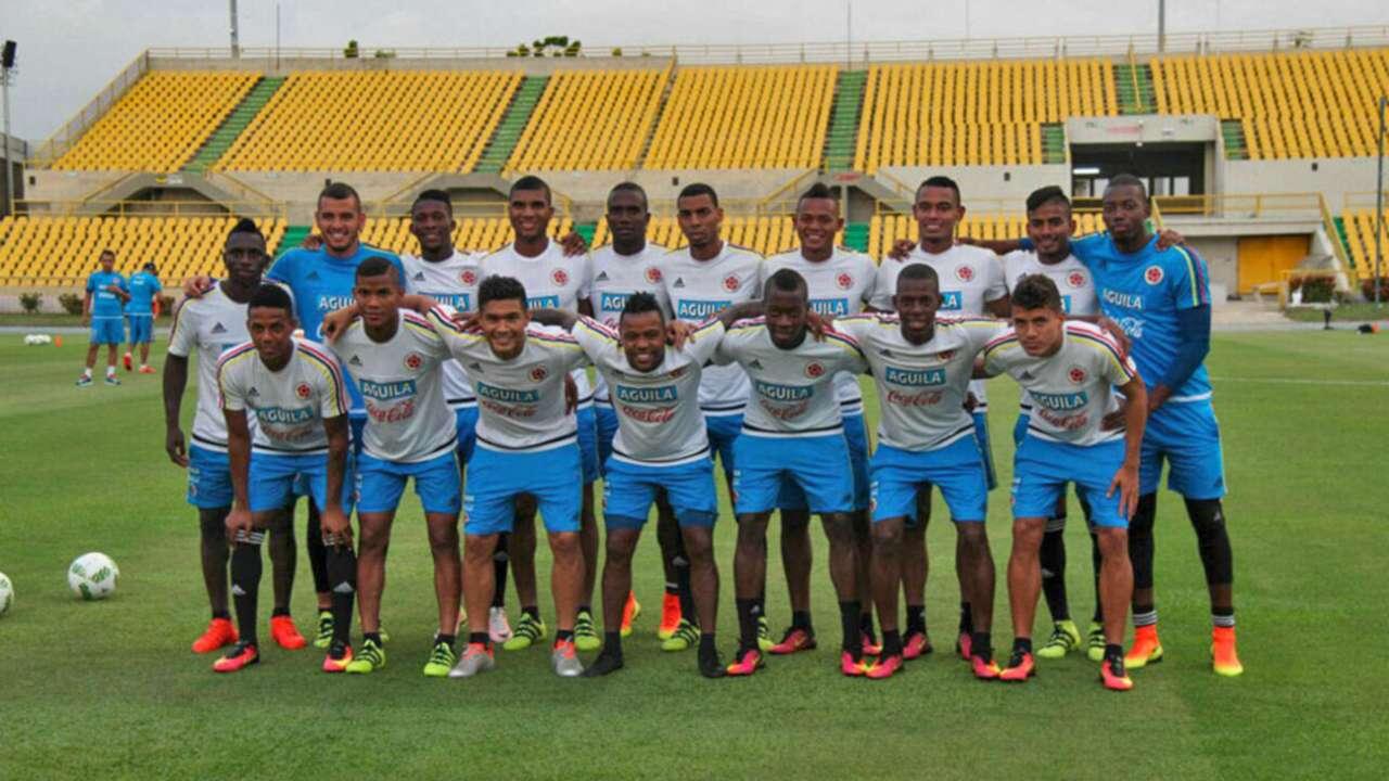 Dorsales Selección Colombia Sub-23