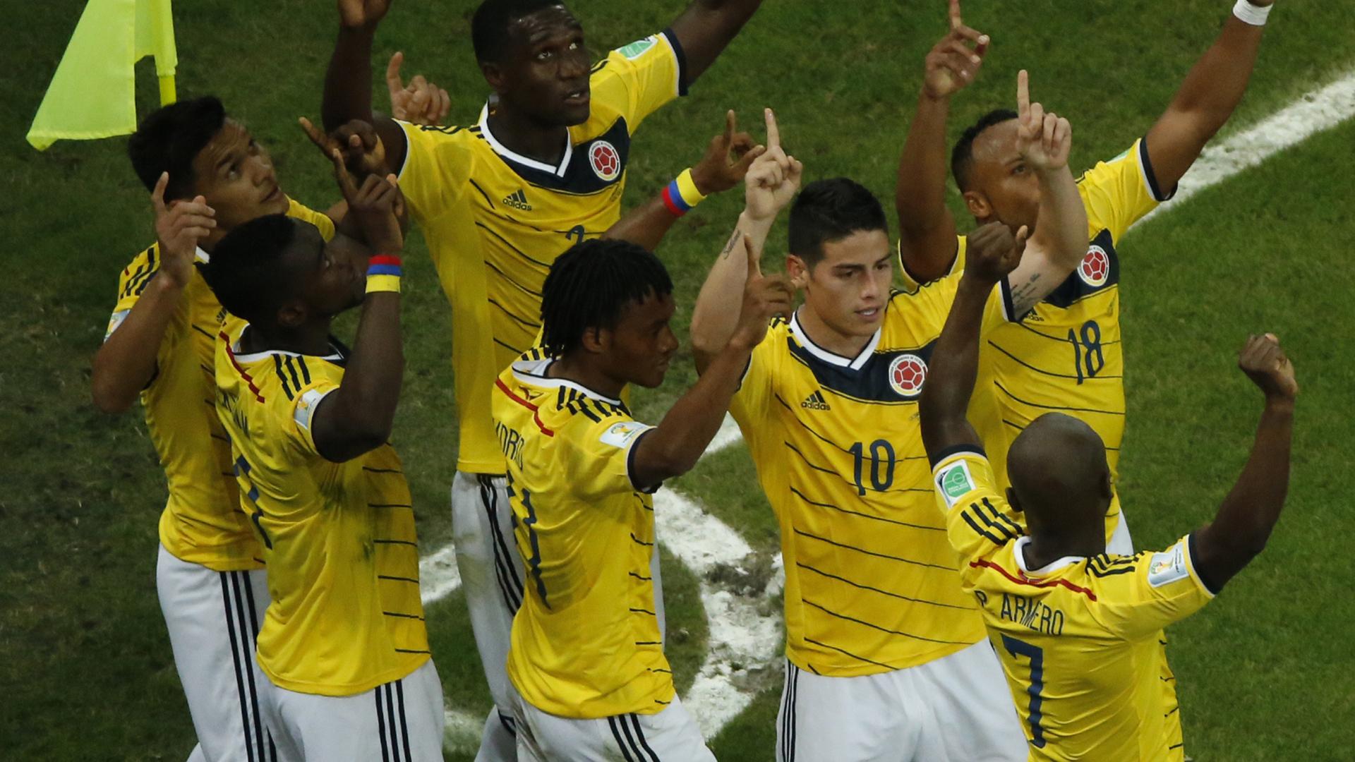 Selección Colombia - Brasil 2014