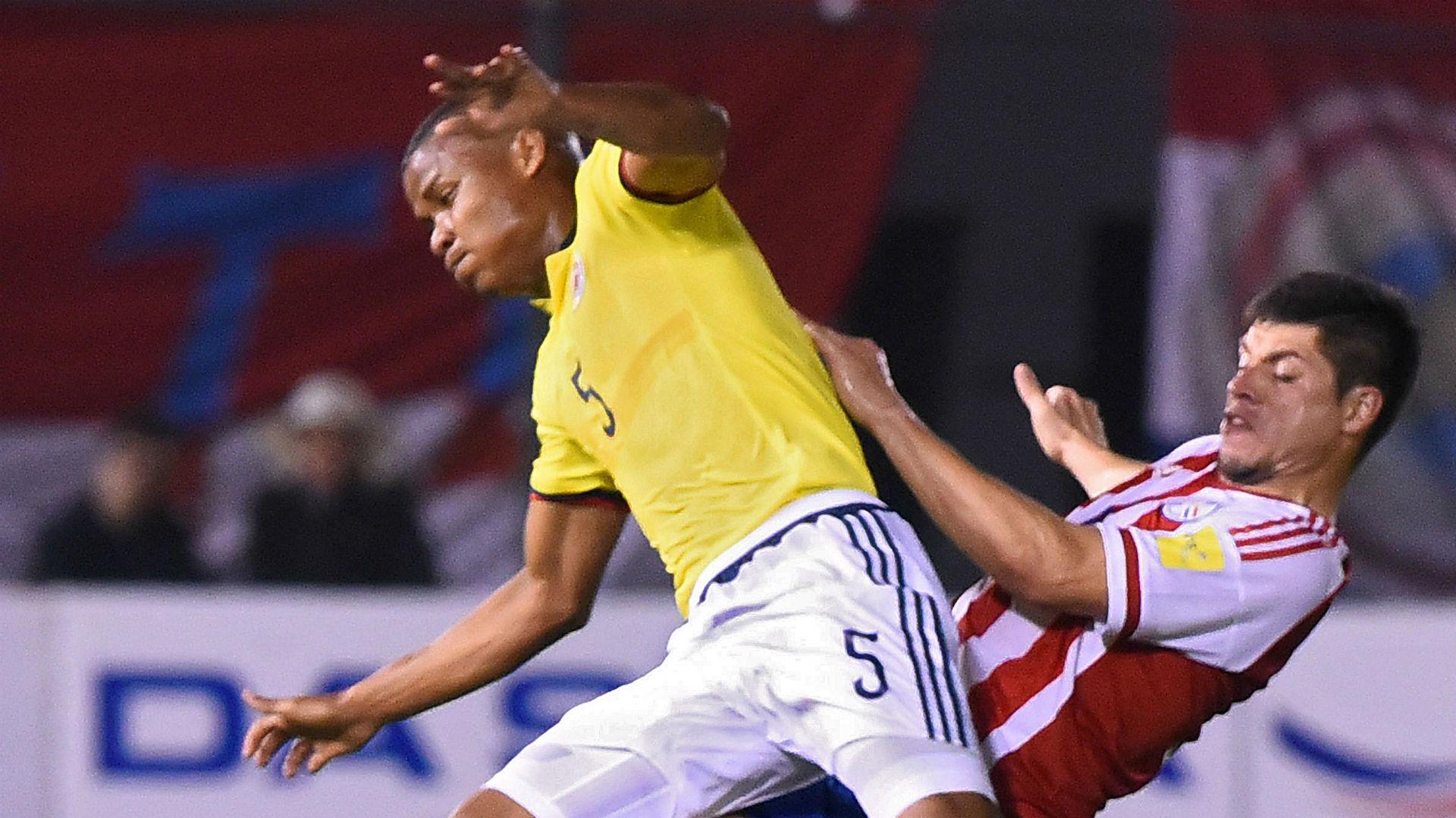 Wilmar Barrios Paraguay vs Colombia Eliminatoria 2016