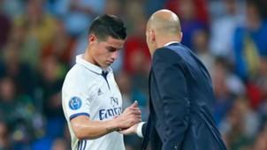 James Rodríguez / Real Madrid 2016-2017