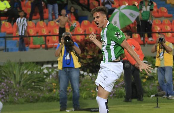Rescaldani Atlético Nacional gol vs Tolima
