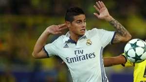 James Rodriguez - Real Madrid 270916