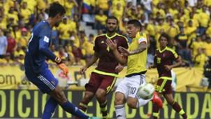 James Rodríguez Colombia vs Venezuela Eliminatoria 2016