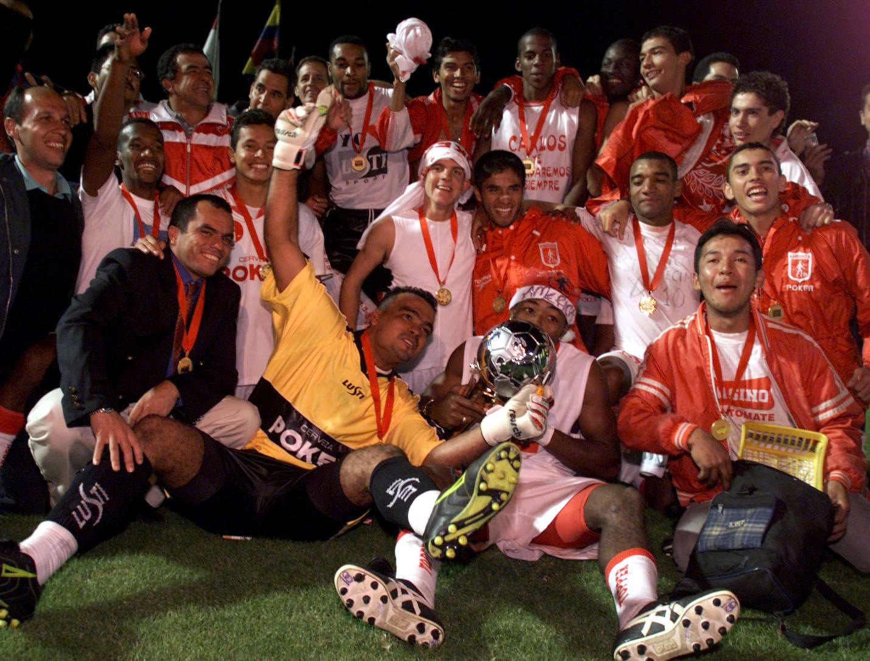 América de Cali campeón Merconorte 1999 GALERÍA