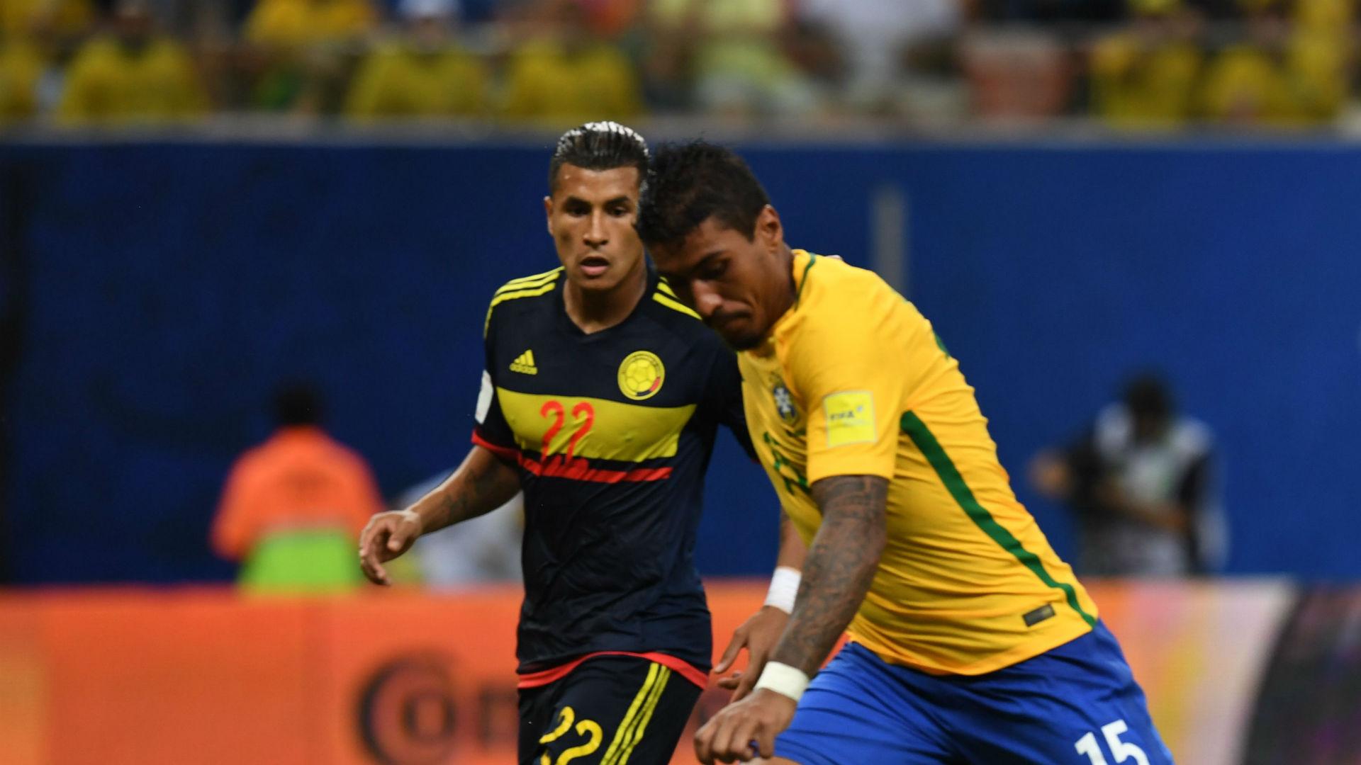 Jeison Murillo Brasil vs Colombia Eliminatoria 2018