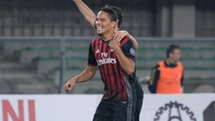 Carlos Bacca - AC MIlan vs Chievo - SERIE A 2016/2017
