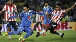 Robayo Millonarios Tesillo Junior Liga Postobón 11052014