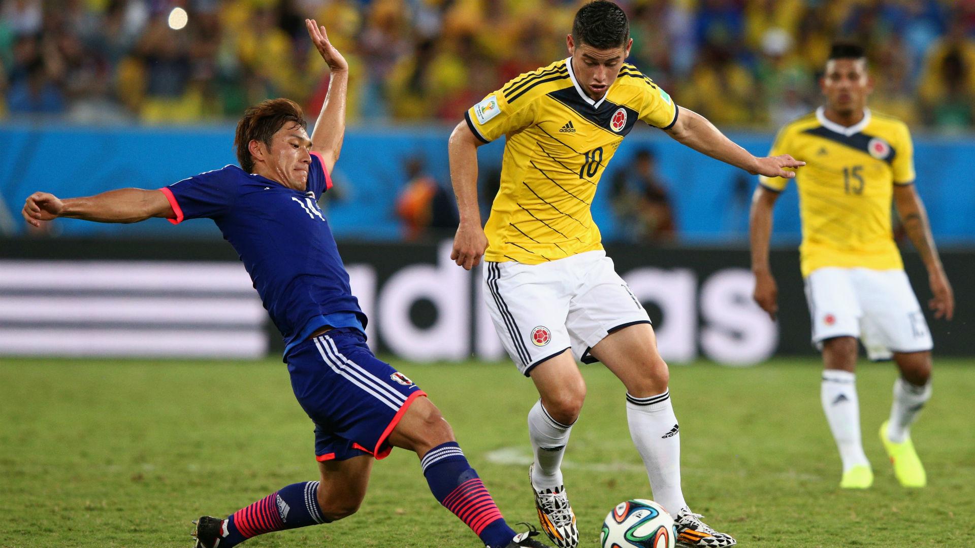 James Rodríguez Colombia vs Japón Brasil 2014