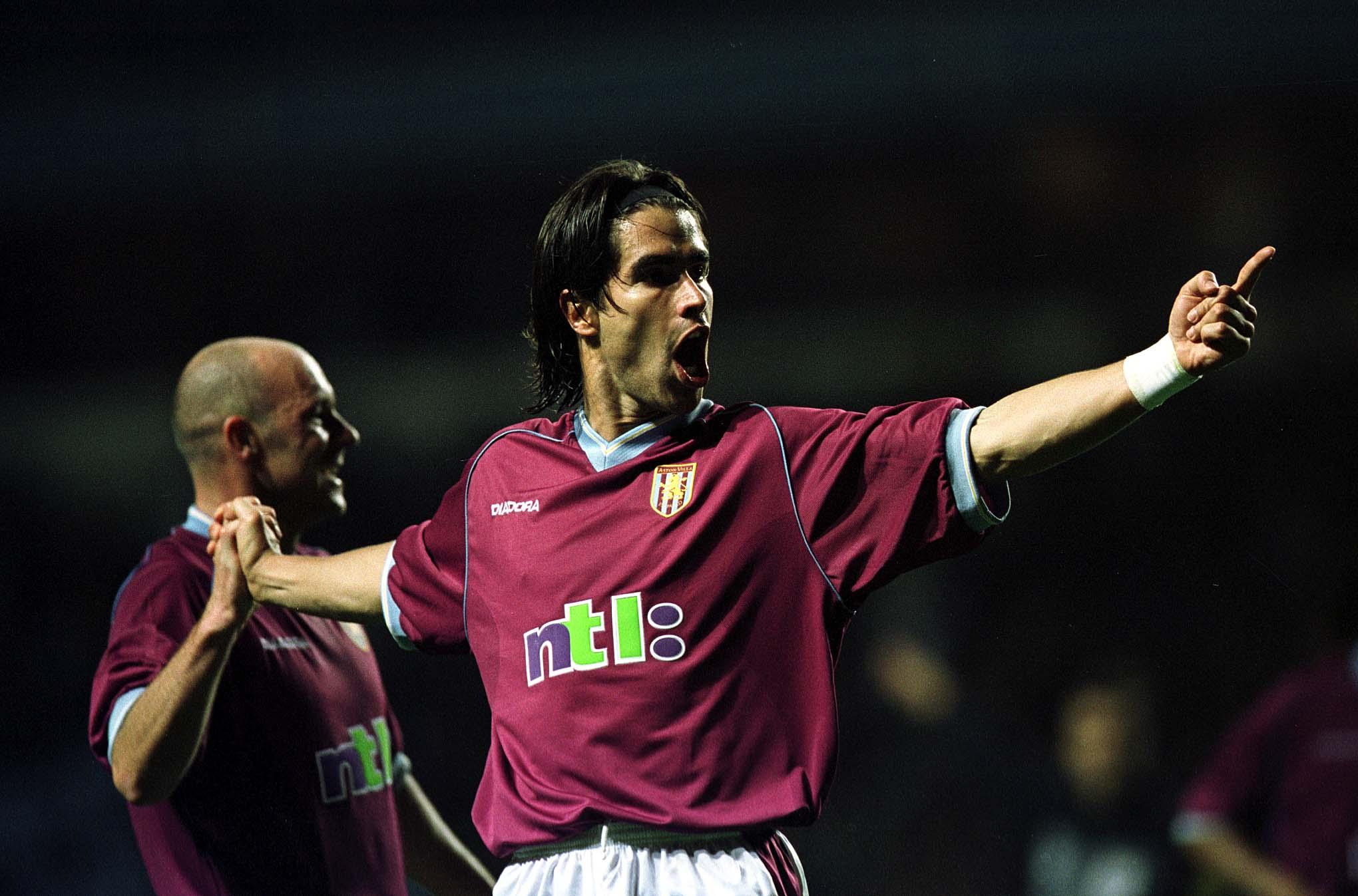Juan Pablo Angel - Aston Villa 2001