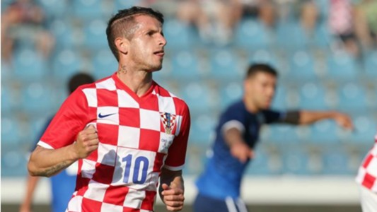 Anas Sharbini Croatia Gibraltar Friendy match 07062015